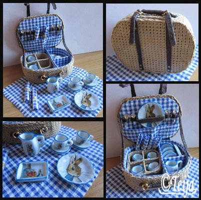 Beatrix Potter piknikkori.